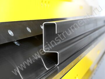 Precise bending even with 3 mm sheet steel (400 Nmm¤)