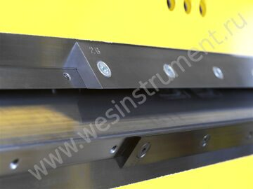Beams and variable supplementary rails made of Hardox 400 material (1250 Nmm¤)